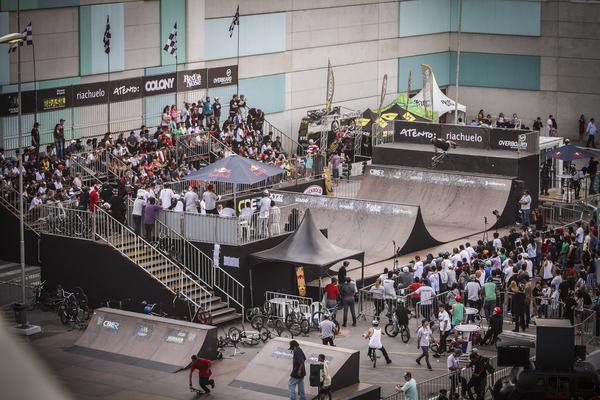 BMX Mini ramp (Marcelo Mug / CBER)