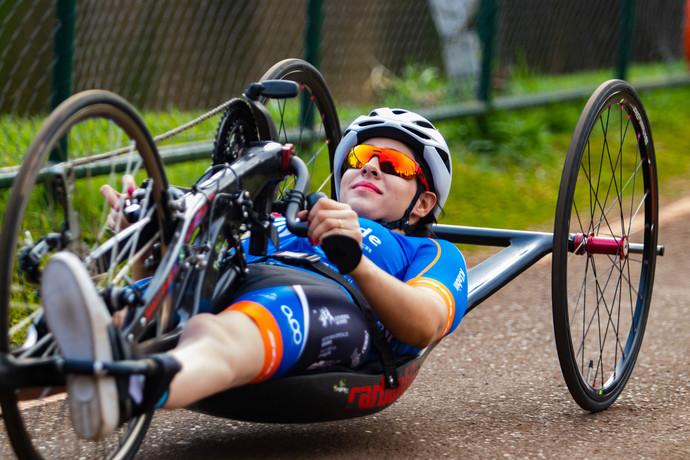 Mariana Garcia fatura 3 ouros na Copa Brasil de Paraciclismo
