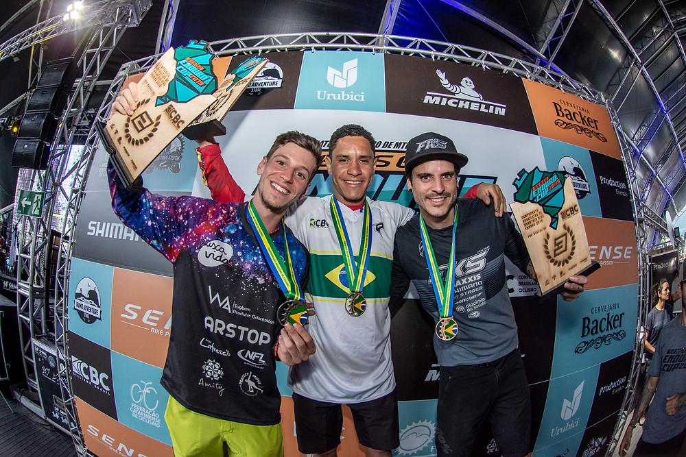 Bernardo, campeão brasileiro / Cesar Delong
