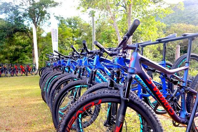 Bikes para teste / Márcio de Miranda