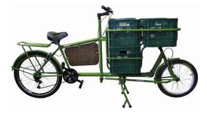 Bicicleta cargueira de uso urbano / Reprodução Internet
