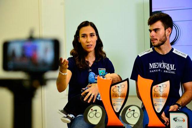 Daniela Lionço e Joel Prado Júnior são os últimos vencedores da prova /  Marcelo Ferrelli -|Gazeta Press