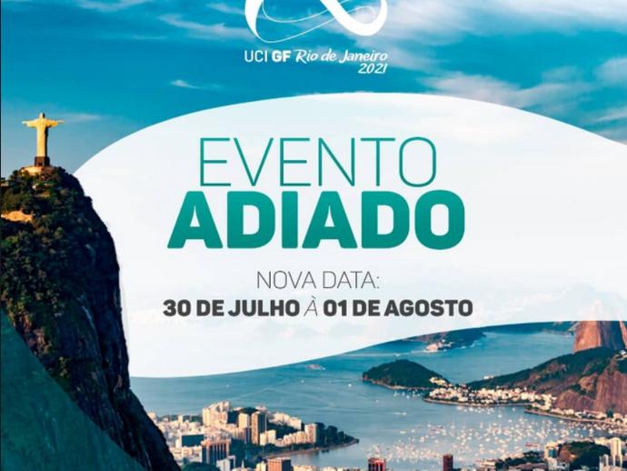 UCI Gran Fondo Rio 2021 é adiado para agosto