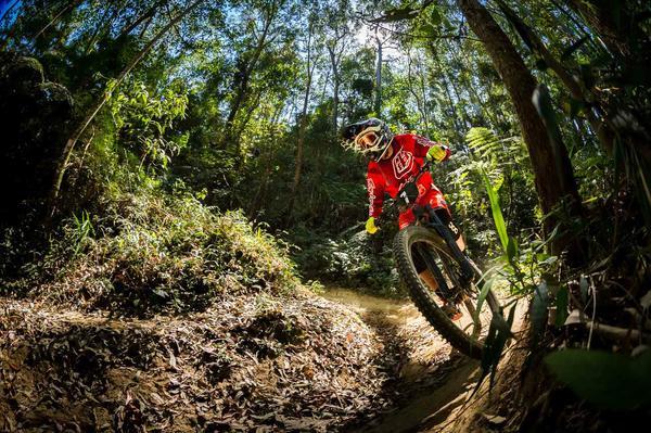 Leo Mattioli em ação na segunda etapa / Adilson Martins - Divulgação