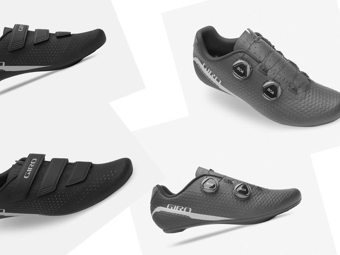 Novas sapatilhas da Giro para ciclismo de estrada chegam ao Brasil