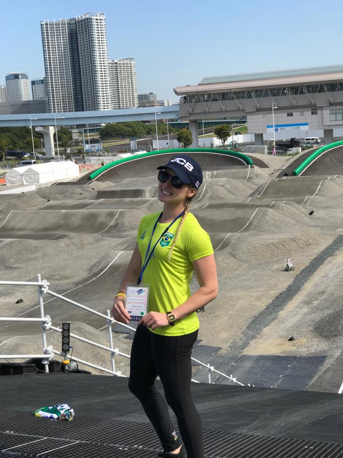 Priscilla Stevaux é a única brasileira no evento-teste das Olimpíadas de Tóquio-2020