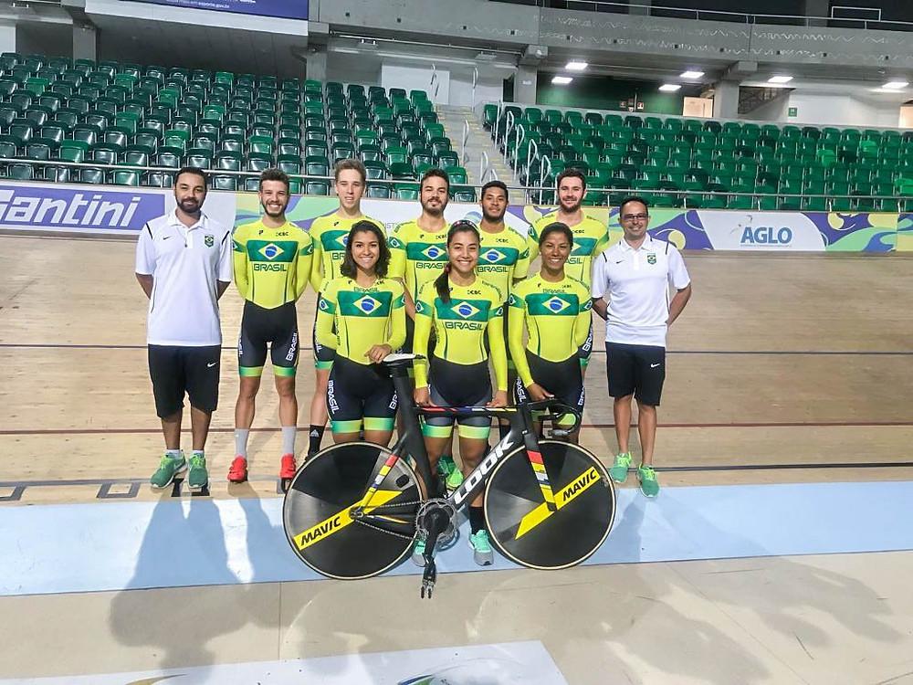 Seleção de Pista no Velódromo do Rio / CBC - Divulgação