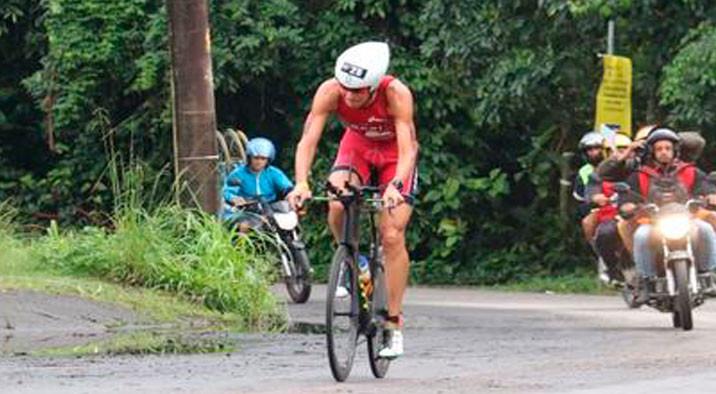 Reinaldo Colucci no Ironman 70.3 do Rio de Janeiro (Fábio Falconi/Unlimited Sports)