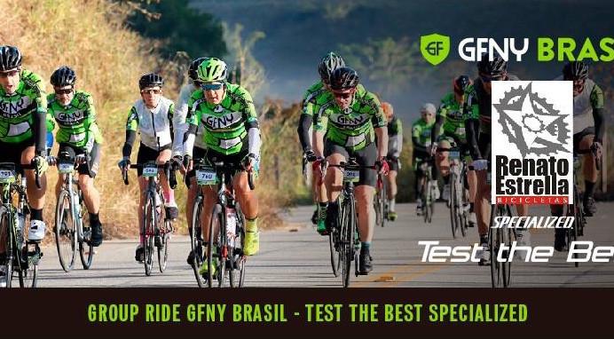 Group Ride GFNY Brasil vai agitar o Vale das Videiras no próximo domingo