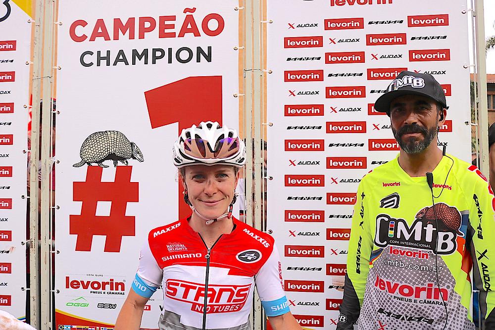 Cloe foi a vencedora na Super Elite Feminina / Márcio de Miranda - Planeta da Bike