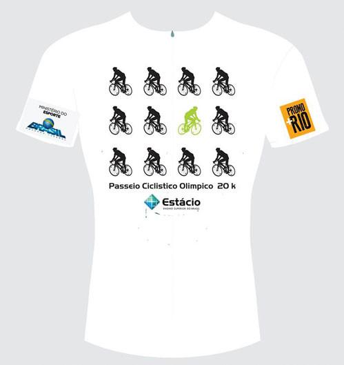 Camisa do Passeio Ciclistico Olimpico 20K / Divulgação