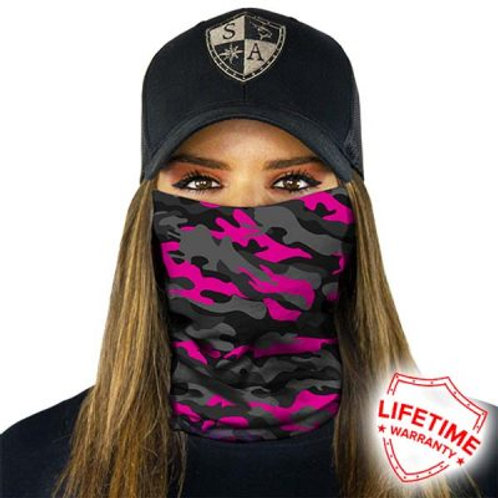 FACE SHIELD - MAGENTA MILITARY