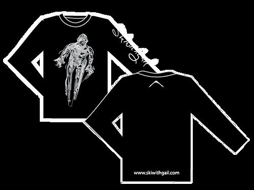 SkiWithGail Ski Jumper- 170gr Long sleeve T