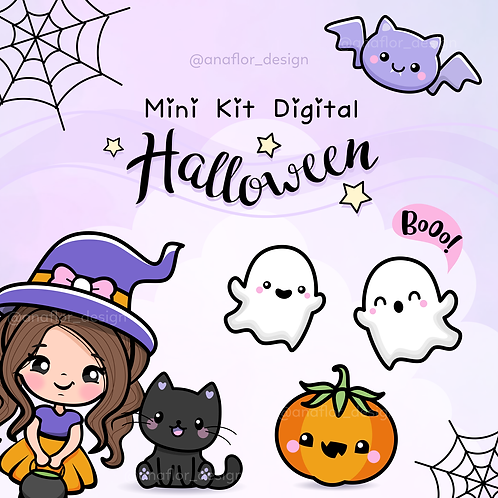 Mini Kit Digital Halloween