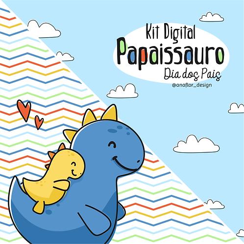 Kit Digital - Dinossauros - Pais