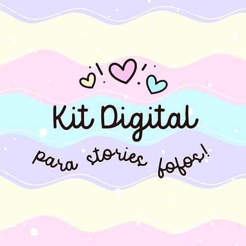 Kit Digital- Stories Fofos