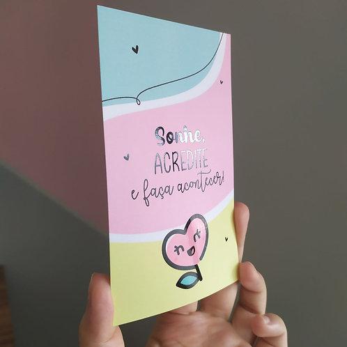 Cartões de Agradecimento Especiais