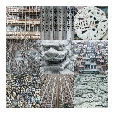 Collage preset 9 City Grey