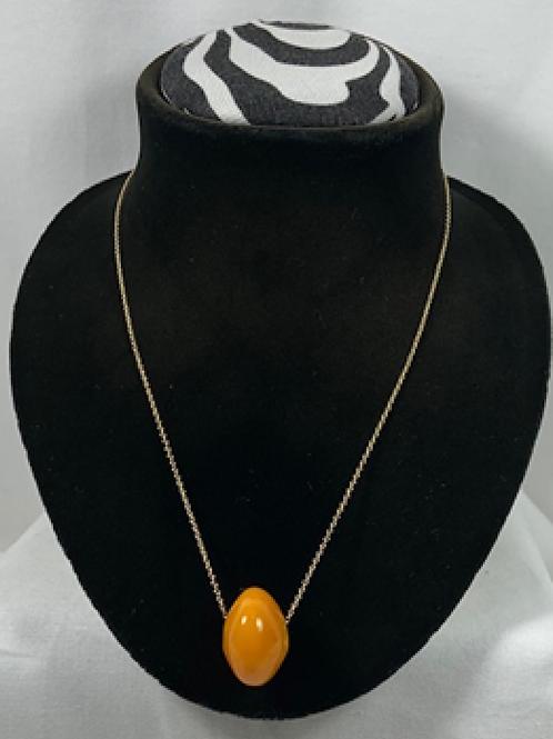N1 Amber 14k Gold filled chain