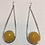 Thumbnail: AE26 African Amber Earrings