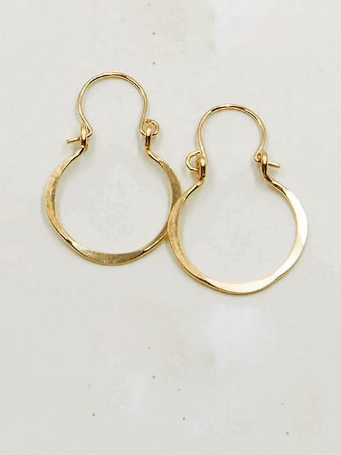 EG6 14 K Gold Filled Wire .75 inch Tear Drop Earrings