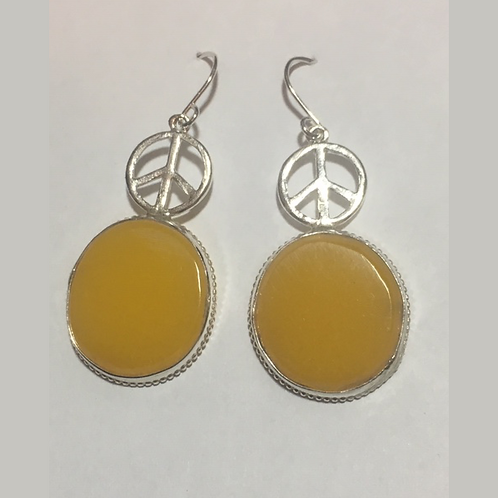 AE2 African Amber Earring
