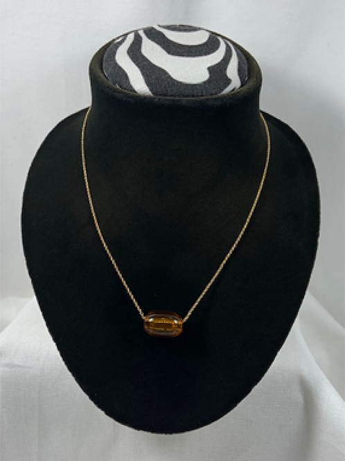 N3 Amber 14k Gold Filled Chain