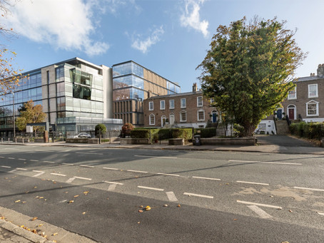 New office building on Mespil Road, Dublin 4
