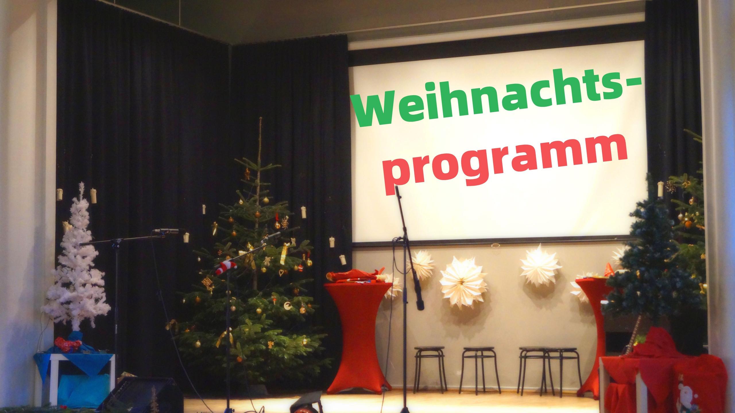 Weihnachtsprogramm 0