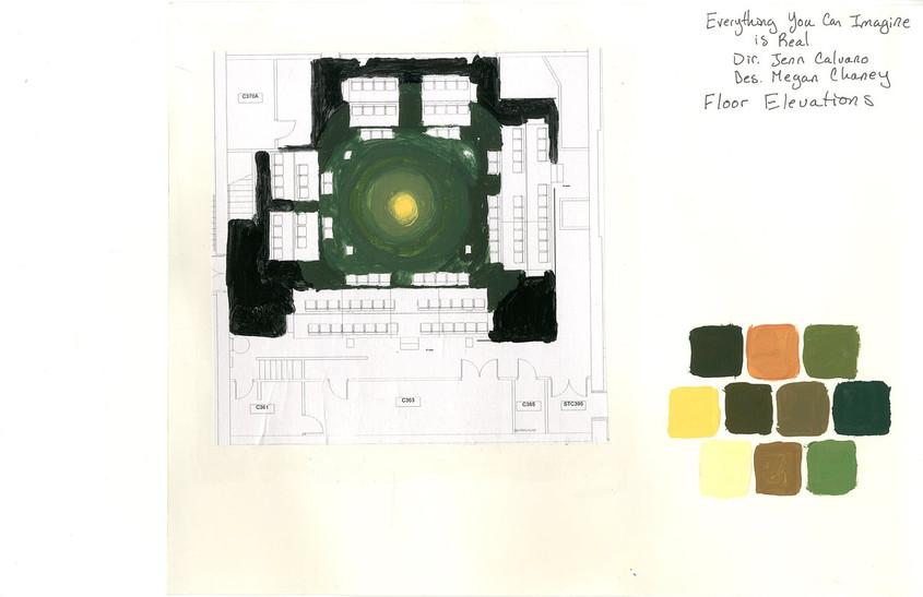 Floor Paint Elevation