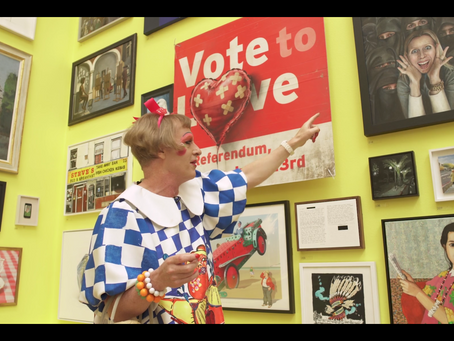 The Grayson Perry hangs Gallery III