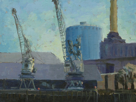 My Last Ever Painting Of Battersea Power Station