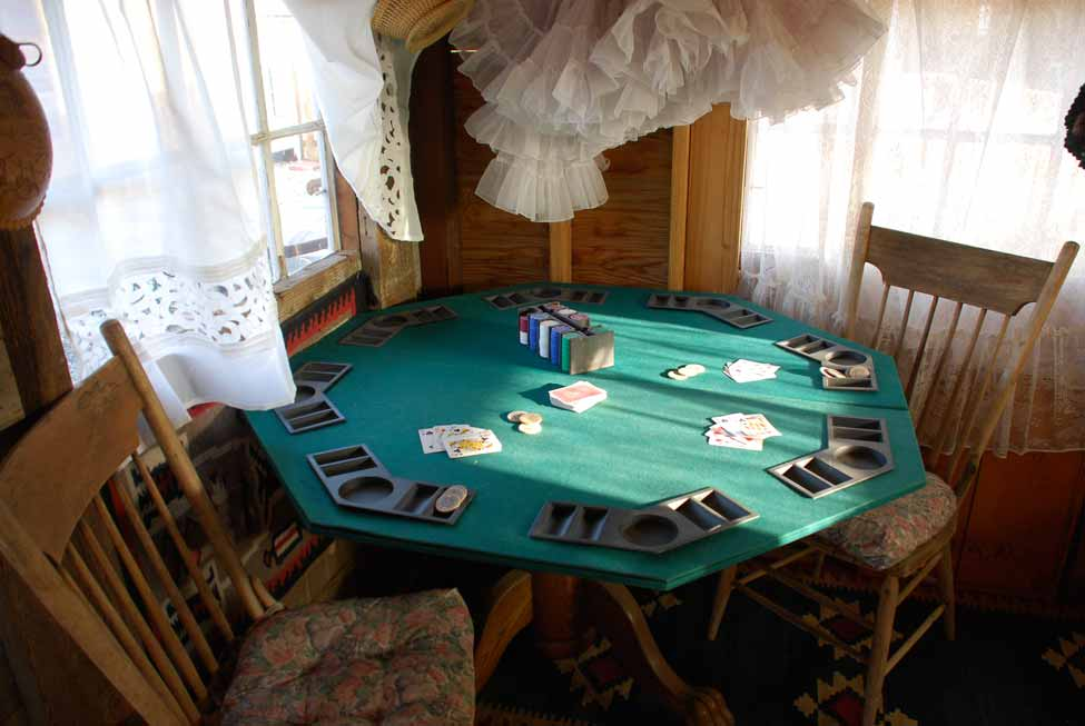 Pool House Card Table
