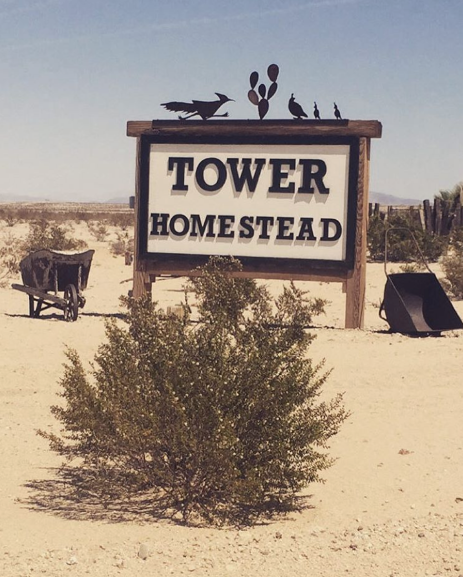 Tower Homestead Sign