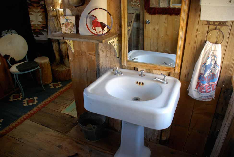 Pool House Sink