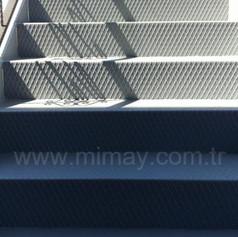 Başboğa Çadır / Kemerburgaz-İstanbul Epoksi İle Sac Merdiven Boyama Uygulaması
