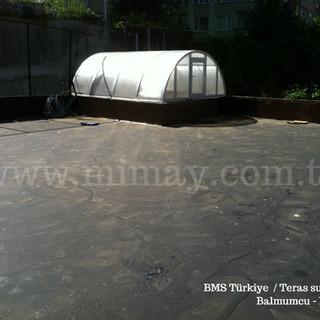 BMS Türkiye - Balmumcu / Teras Su Yalıtımı