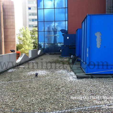 Spring Giz Plaza / Maslak - İst. Teras Su Yalıtımı