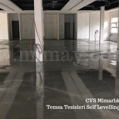 CVS Mimarlık / Bağlarbaşı - İst. Self Levelling Şap Uygulaması