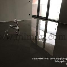 Hüni Parke / Bahçeşehir - İst. Self Levelling Şap Uygulaması