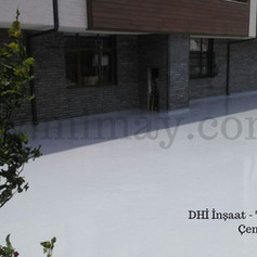 DHİ İnşaat / Çengelköy - İst. Poliüretan ile teras su yalıtımı