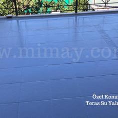 Özel Konut / Bakırköy - İst. Seramik üzeri teras su yalıtımı
