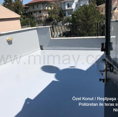 Özel Konut / Reşitpaşa - İstanbul Teras Su Yalıtımı