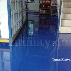 Turan Kimya / İkitelli - İstanbul Düz Epoksi Kaplama Uygulaması