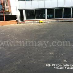 BMS Türkiye / balmumcu - İst. Poliüretan ile teras su yalıtımı