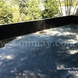 Özel Konut - Tarabya / Teras Su Yalıtımı