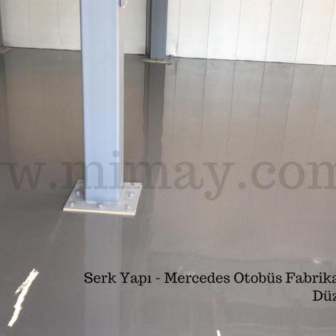 Mercedes Otobüs Fabrikası / Hoşdere - İstanbul Düz Yüzeyli Epoksi Kaplama