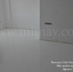 Aspassia Otel / Bozcaada - Çanakkale Düz Epoksi Kaplama