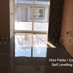 Hüni Parke / Çengelköy - İstanbul Self Levelling Şap Uygulaması