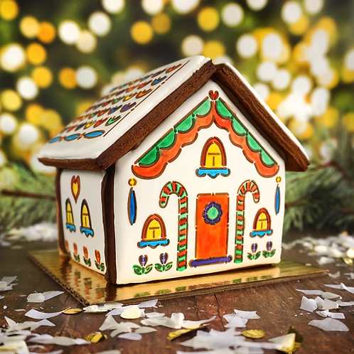 Gingerbread & Christmas Manger Houses